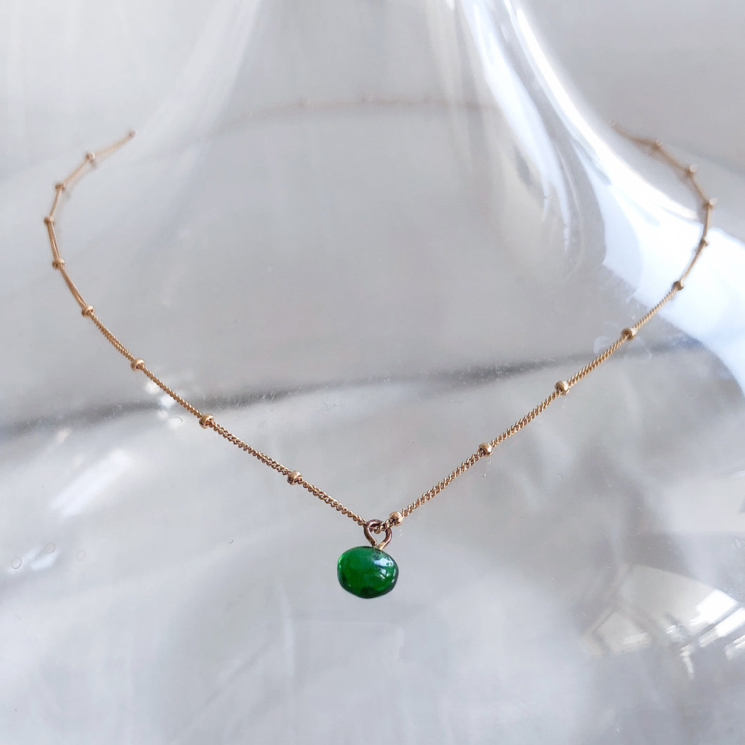 Vein Studio, recycled glass, Spring pool recycled glass bead, Sustainable Jewellery, 春池玻璃, 琉璃珠, 回收玻璃, 永續珠寶