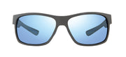 Espen Sports Sunglasses in Matte Graphite with Blue Water Lens Revo Sunglasses x Bear Grylls