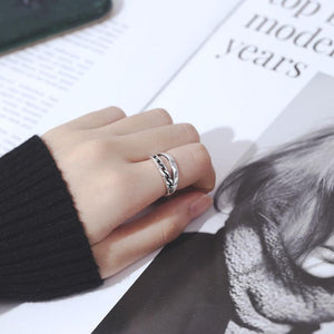 Trendy Punk Open Ring