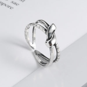 Personalized knot ring