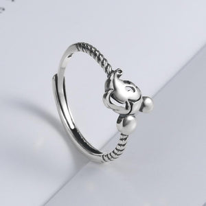 Cartoon retro ring