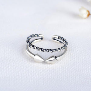 Double arrow beginning ring