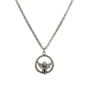 Angel Cupid Necklace