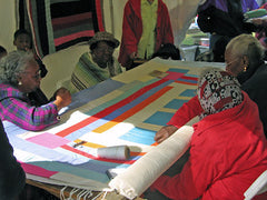 Gee's Bend Quilting Collective circle