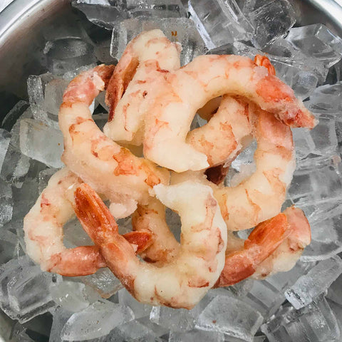 21/25 Shrimp, Peeled & Deveined, Tail-On