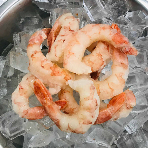 16/20 Shrimp, Peeled & Deveined, Tail-On