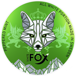 White Fox nikótínpúðar Peppered Mint