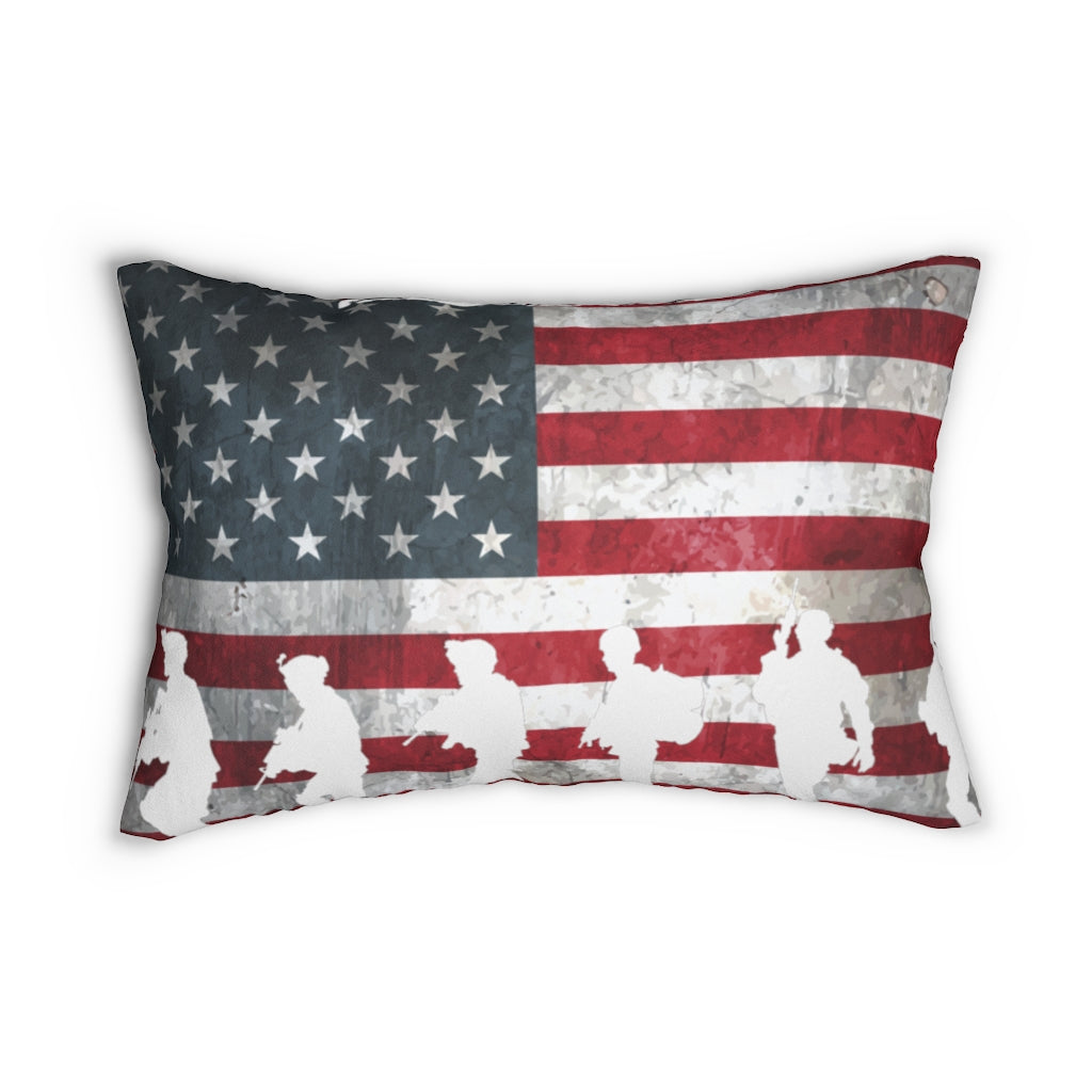 PREMIUM USA FLAG PILLOW - patrioticforce.store
