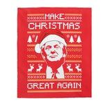 MAKE CHRISTMAS AGAIN BLANKET - patrioticforce.store