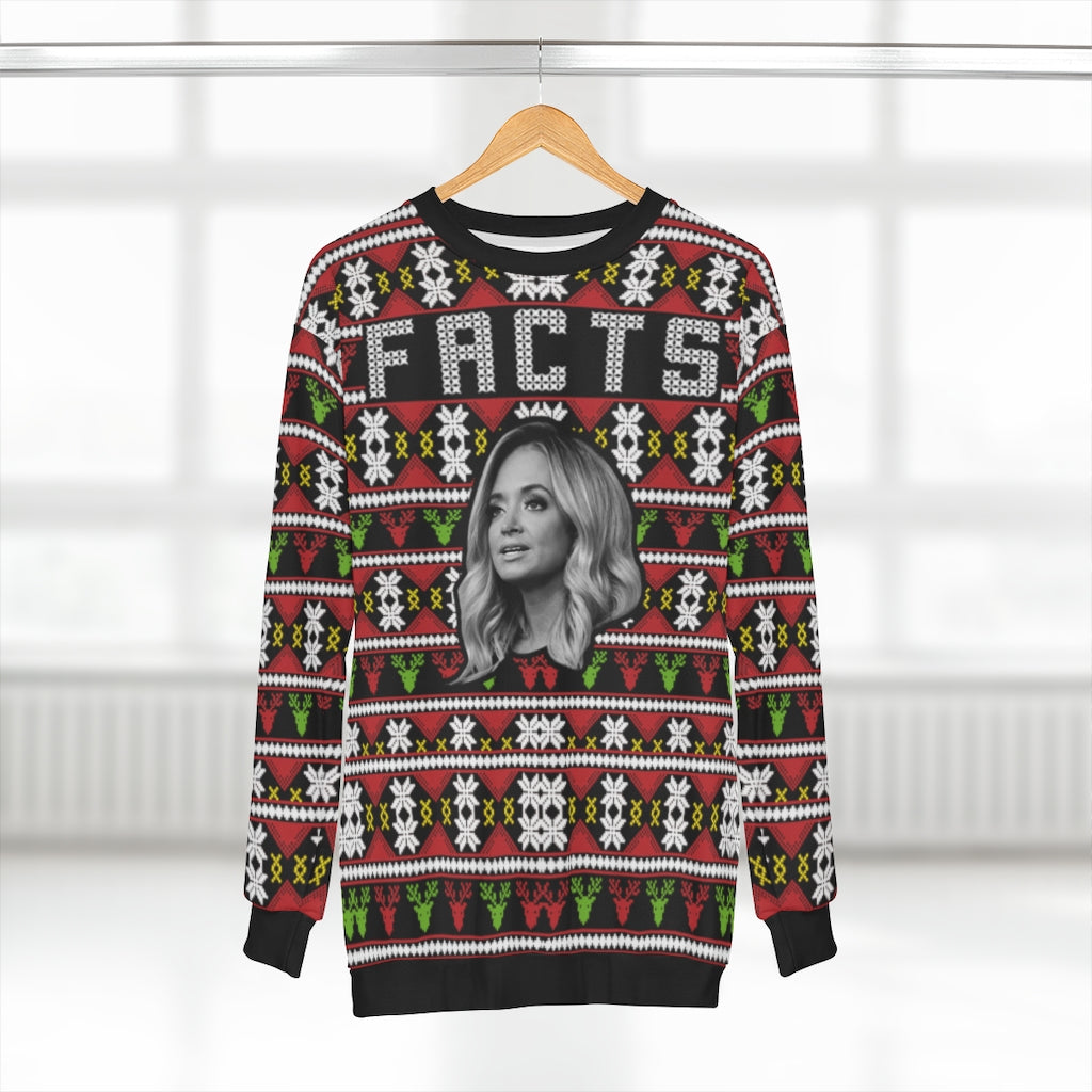 PREMIUM: KAYLEIGH MCENANY FACTS CHRISTMAS SWEATSHIRT - patrioticforce.store