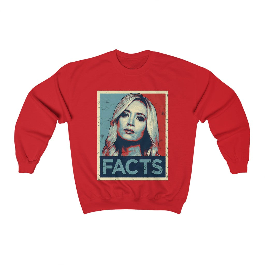 KAYLEIGH MCENANY FACTS SWEATSHIRT - patrioticforce.store