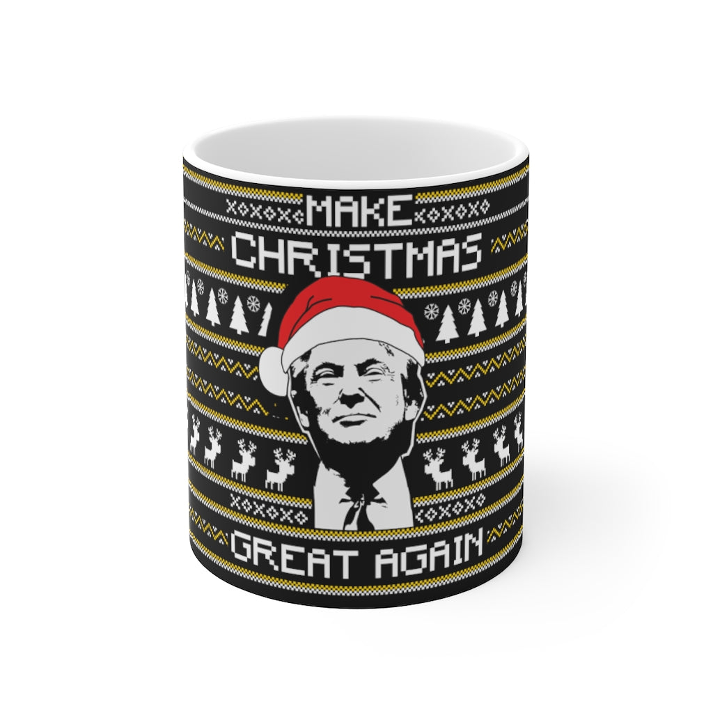 MAKE CHRISTMAS AGAIN MUG - patrioticforce.store