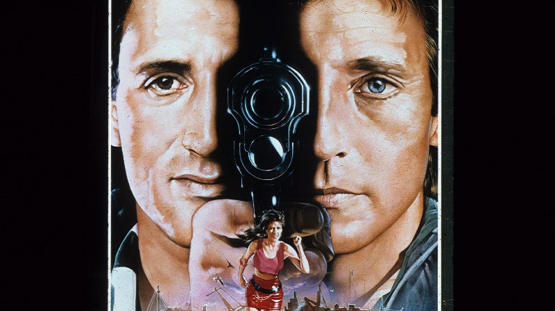 We're big time! Coming soon, a release starring STALLONE and MITCHUM!