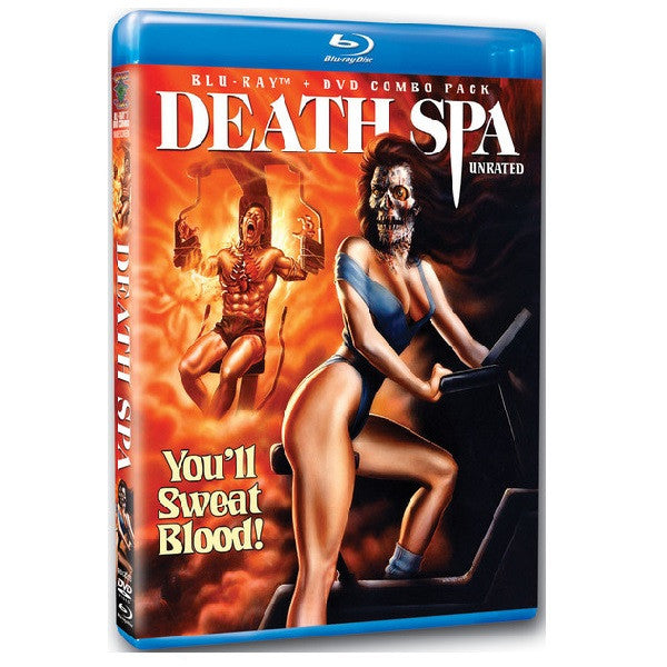 Death Spa (DVD/Blu-ray combo)