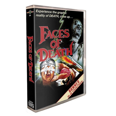 FACES OF DEATH – Original '80s VHS Art