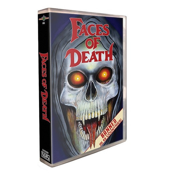 FACES OF DEATH – '90s Re-Release VHS Art
