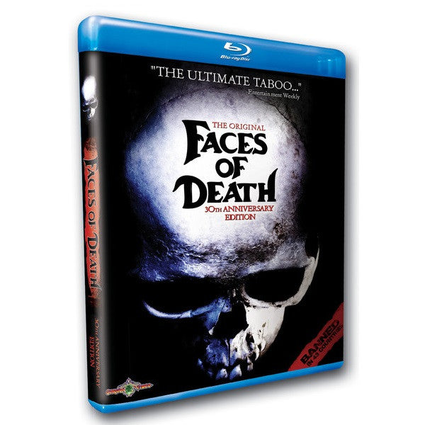 The Original Faces of Death: 30th Anniversary Edition Blu-ray