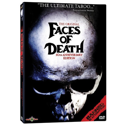 The Original Faces of Death: 30th Anniversary Edition DVD