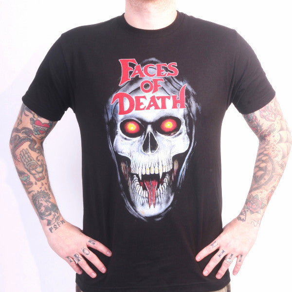 Faces of Death tees