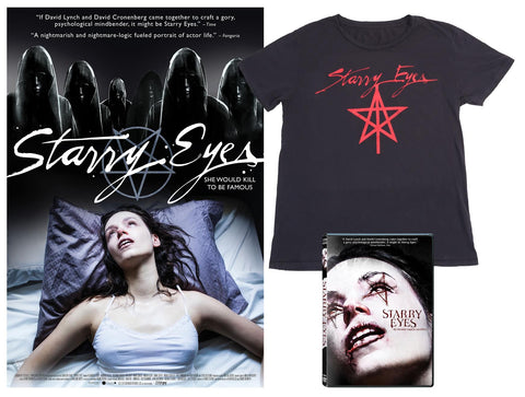 Starry Eyes DVD bundle pack + poster