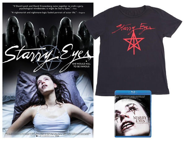 Starry Eyes blu-ray bundle pack + poster