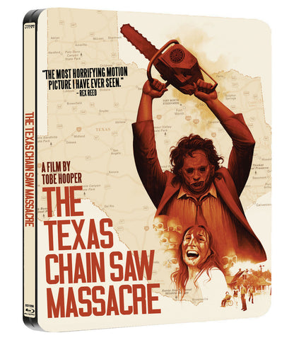 The Texas Chain Saw Massacre Blu-ray Steelbook