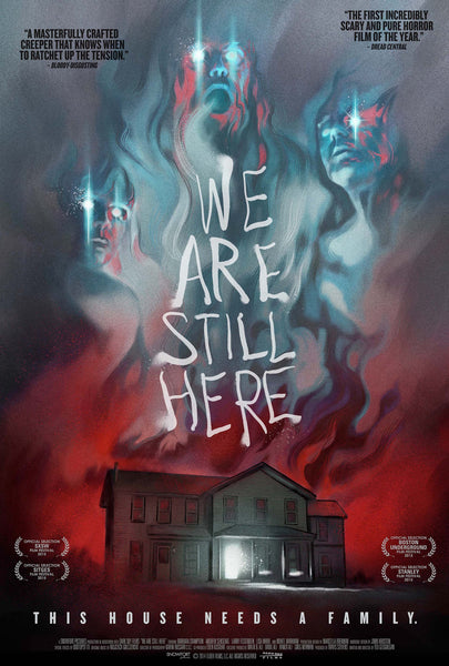 We Are Still Here theatrical poster