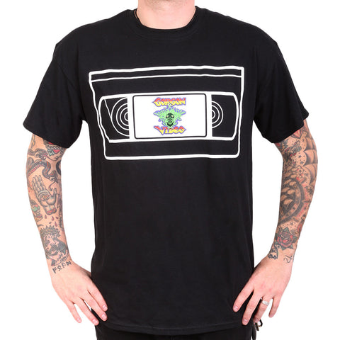 Gorgon Video VHS Tee - Black