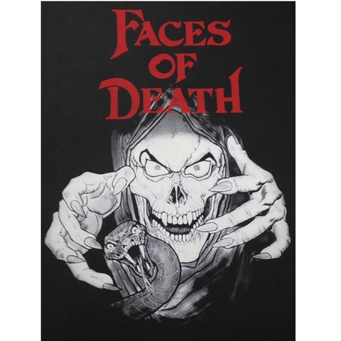Faces of Death glow-in-the-dark Poster