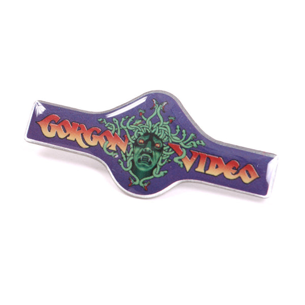 Gorgon Video Lapel Pin