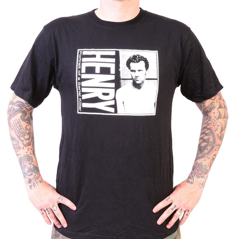 Henry: Portrait of a Serial Killer B&W Tee