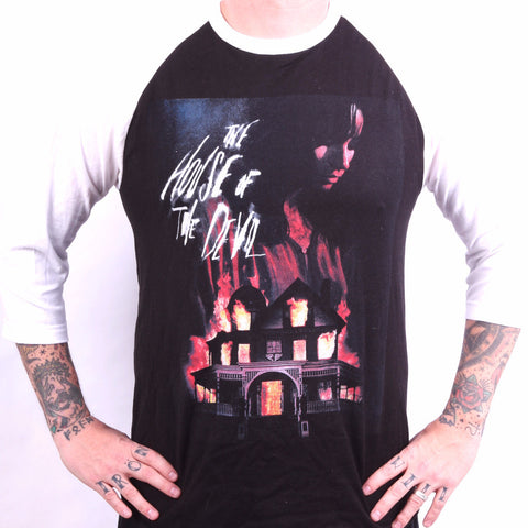 The House of the Devil baseball tees- house design