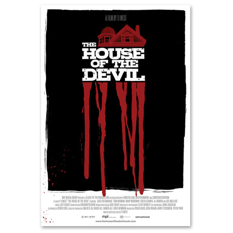The House Of The Devil Rare Promotional Poster