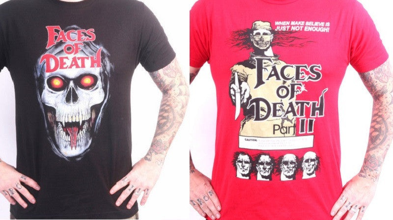 FACes of death tees!