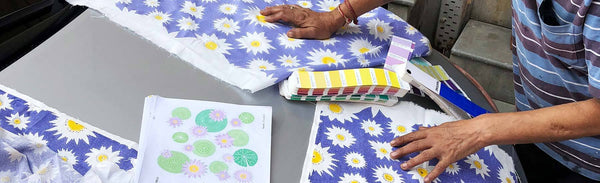 Design Process: Making of the Lily Lotus Quilt