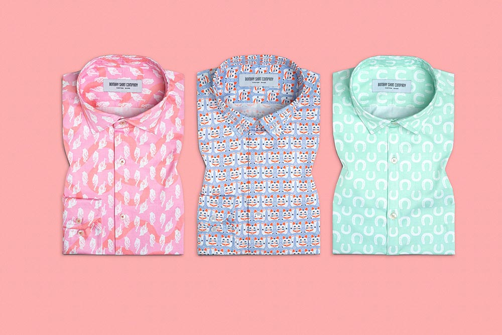 Bombay Shirt Company Lucky Charms Shirt Collaboration with Safomasi