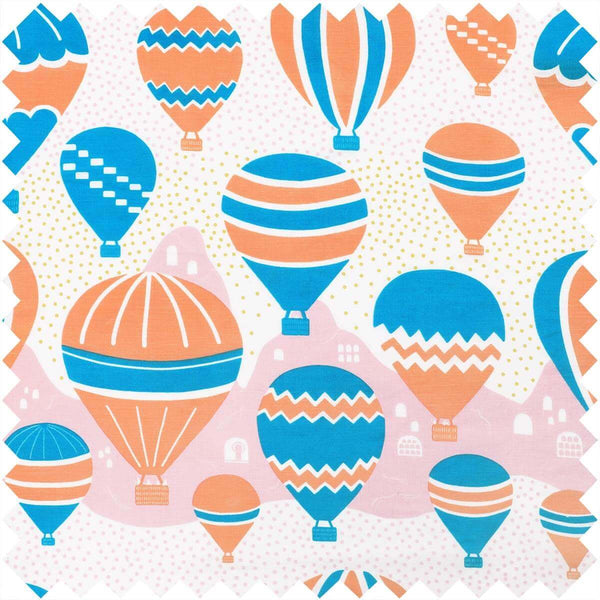 Balloons at Dawn Fabric