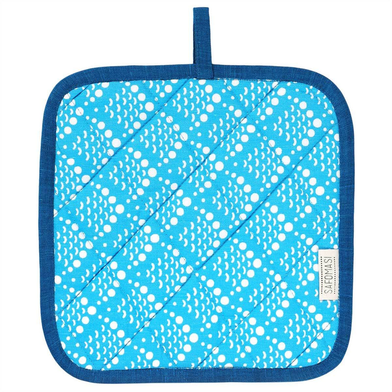 Blue Ocean Reef Pot Holder