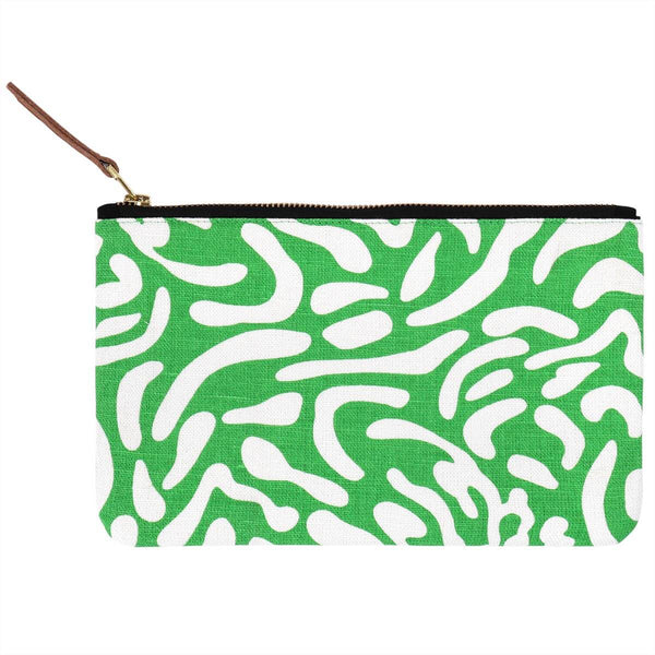 Green Golf Course Pouch
