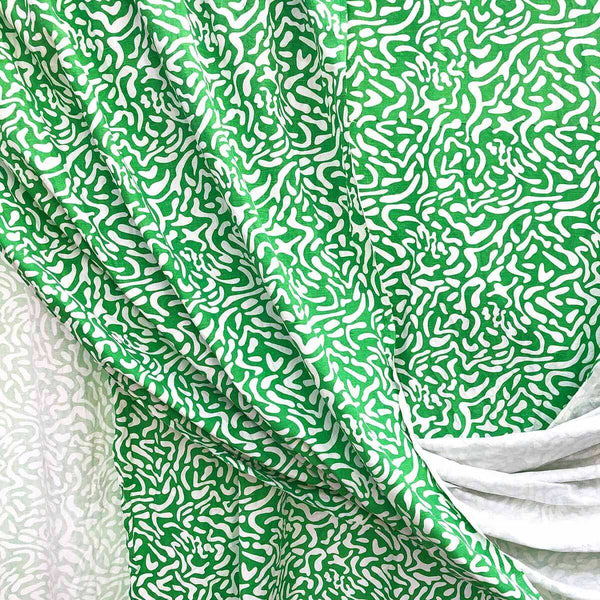 Green Golf Course Fabric