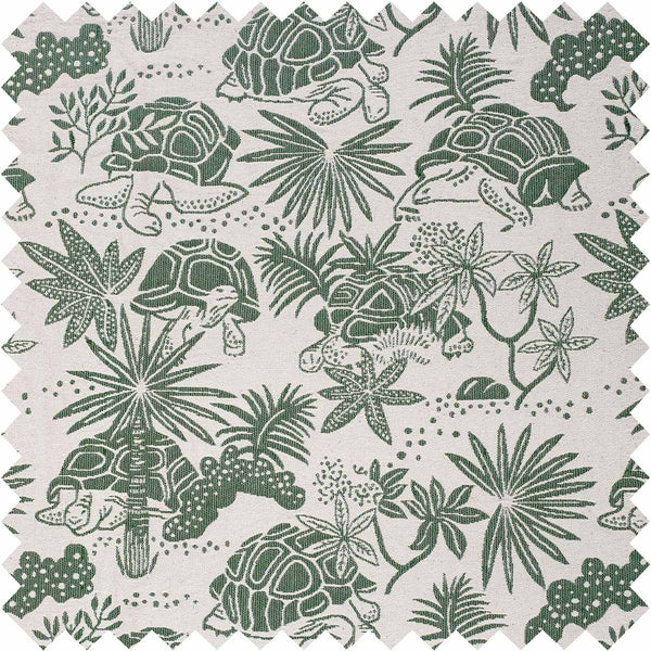 Green Tortoise Fabric