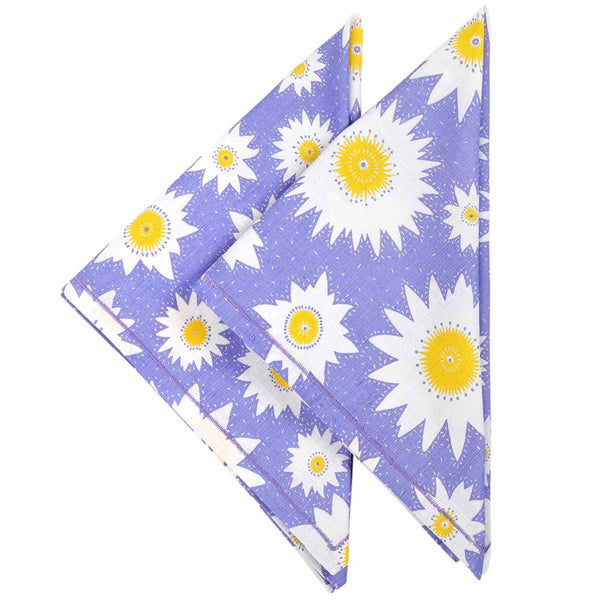Lily Flower Napkins - Set of 2