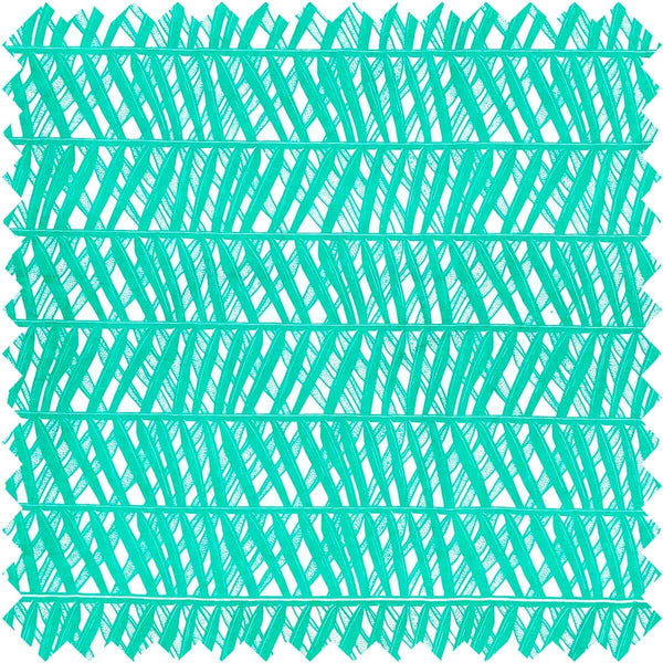 Mint Palm Weave Fabric