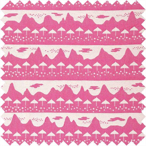 Pink Belle Mare Fabric