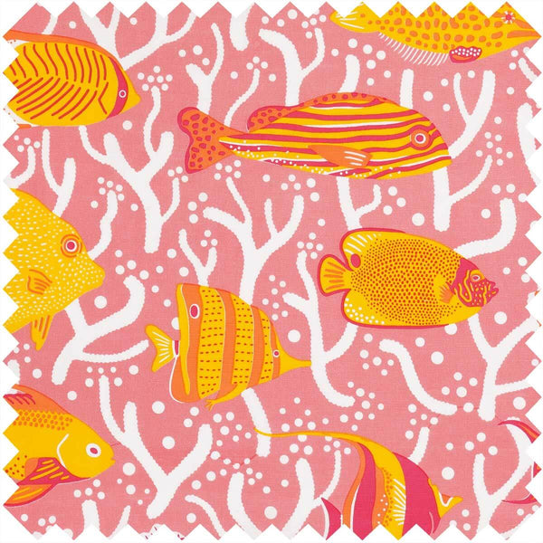 Pink Coral Reef Fabric