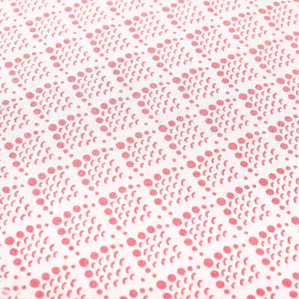 Pink Fish Scale Fabric