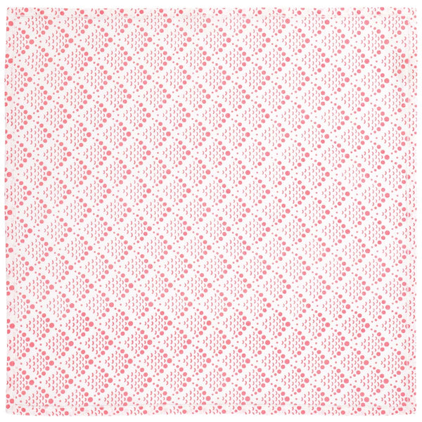 Pink Fish Scale Napkins - Set of 2