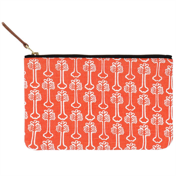 Red Hibiscus Pouch