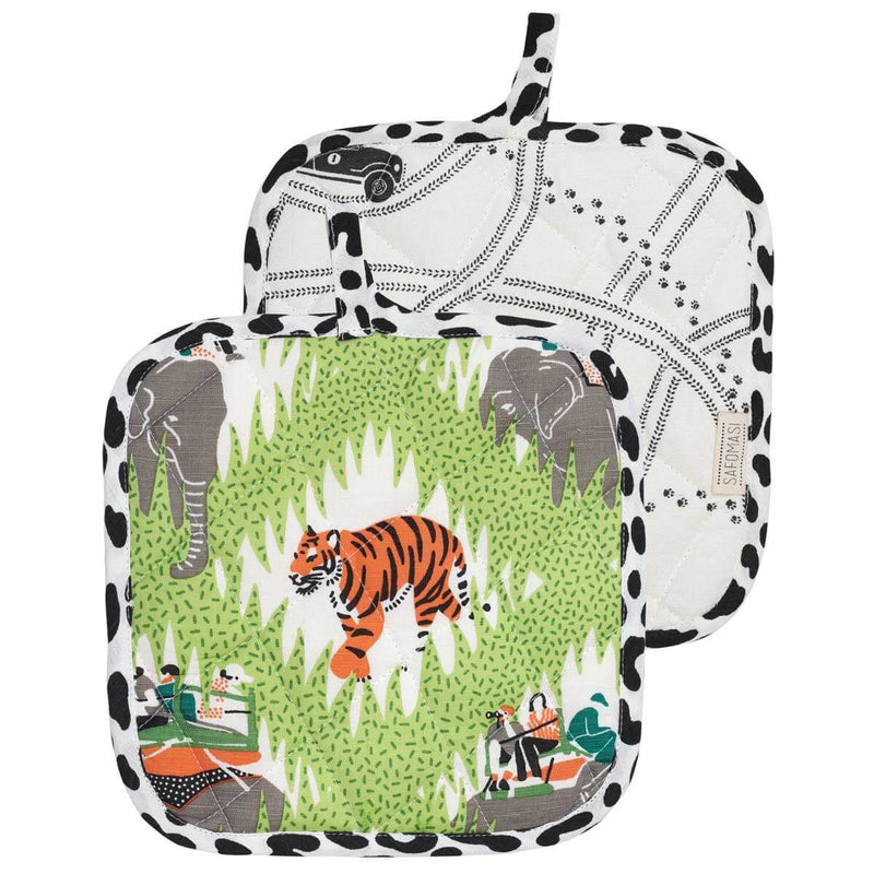 Safari Tracks Pot Holder