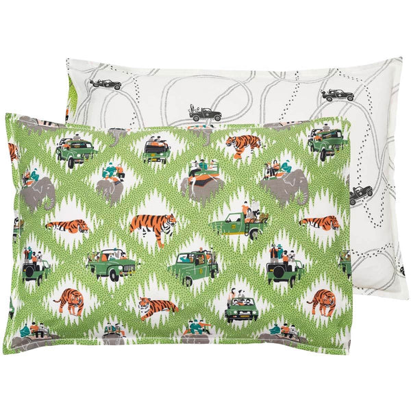Safari Tracks Pillowcase